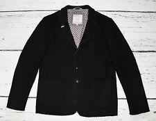 CAMP DAVID Men's Black Wool Elbow Patches Jacket !  size M