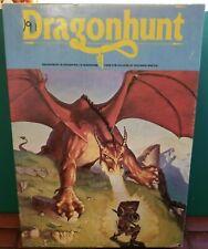 1982 Dragonhunt Vintage Fantasy Wargame Avalon Hill