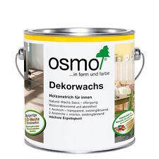 Osmo Dekorwachs transparent für innen verschiedene Farbtöne ab 27,40 �'�/L