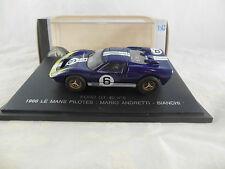 RARE EAGLES RACE FORD GT 40 No.6 LE MANS 1966 MARIO ANDRETTI BIANCHI UNIVERSALI