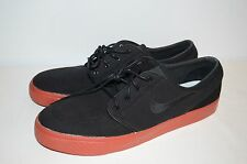 NIKE SB ZOOM AIR Stefan Janoski Skateboarding Shoes Terra Cotta Black/Red Sz 14