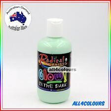 OZ Made Glow In The Dark Painting from Radical Paint Non Toxic Water Based