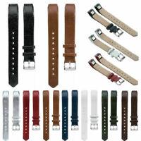 Echtes Leder Uhrenarmbänder Armband Ersatzband Band Strap Für Fitbit Alta/HR MV