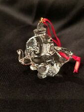 DISNEY DUMBO Glass/Crystal Ornament by Arribas Bros
