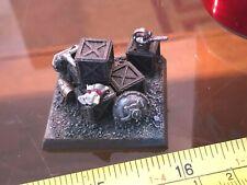 Dwarf Crates Ammo Shell Scroll Objective Marker Scenery Terrain AOS Warhammer GW