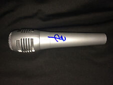 "Pete Wentz Signed Microphone ""Fall out Boy"" Music Superstar COA #2"