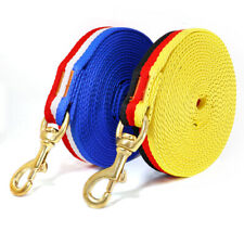 Nylon Long Leash for Medium Large Dogs Durable Dog Training Tracking Rope Lead