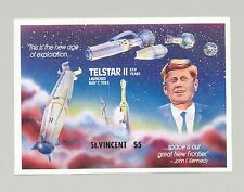 St. Vincent #1171, Kennedy, Space, 1v. s/s imperf proof