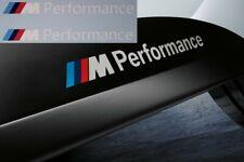 2 M Performance Power Aufkleber 134mm weiß BMW M Power M Logo X5 X6 X3 3er 5er