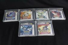 Pokemon Nintendo 3DS VGA Gold Collection U95 - Sun Moon X Y Sapphire Ruby Mint!