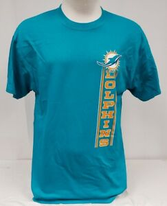 BRAND NEW Majestic Men's NFL Miami Dolphins Short Sleeve Shirt
