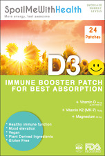 Kids: Vitamin D3 Patches. Gentle New Formula. 24 Week Supply
