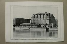 BB3) Architektur Dresden 1925 Lagerhaus Hans Erlwein Straße