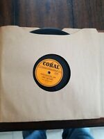 AMES BROTHERS 1950 SENTIMENTAL ME / RAG MOP 78rpm- CORAL # 60140