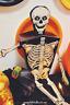 Vintage Halloween 3/PKG SKELETON PARTY FAVOR & CANDY BOXES Beistle