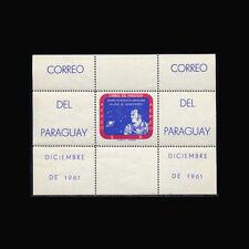 Paraguay, Sc #616a, Perf, MNH, 1961 S/S, Space, Alan B Shepard, FXAR6Z-A