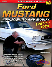 MUSTANG HOW TO BUILD MODIFY MANUAL BOOK BOHANAN FORD FRANK SHELBY AND 1964 1973