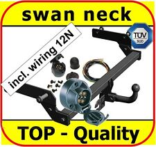 Car tow bars ebay towbar electric 12n 7 pin dacia duster 2010 2013 swan neck tow bar publicscrutiny Gallery