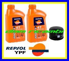 Kit Tagliando PIAGGIO BEVERLY 500 12>13 + Filtro Olio REPSOL 5W/40 2012 2013