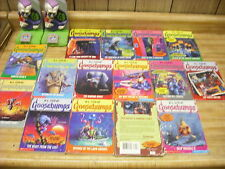 Goosebumps 34 book lot + folder  price reduced
