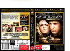 Casualties of War-1989-Michael J Fox- Movie-DVD