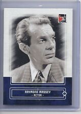 2010-11 IN THE GAME CANADIANA RICHARD MASSEY ACTOR BLUE 76 ITG