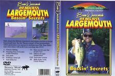 Bass Fishing Deadliest Secrets Babe Winkelman Locate Finesse Topwater DVD NEW