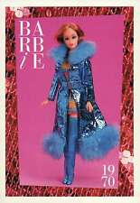 "Barbie Collectible Fashion Trading Card "" Maxi 'N Mini "" Mylar Coat, Boots 1970"