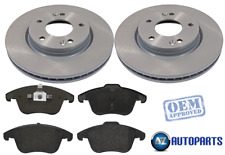 For Ford - Mondeo MK4 TDCi 2007-2015 (BA7) Front 300mm Brake Discs and Pads Set