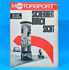 DDR Illustrierter Motorsport IMS 11/1968 Audi 60 Rund um Zschopau Wankelmotor X