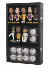 Display Case Rack Holder Cabinet Bobble Head Bobblehead Figurines Baseball Cubes