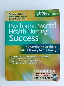 Psychiatric Mental Health Nursing Success: A Course Review Applying Critical...