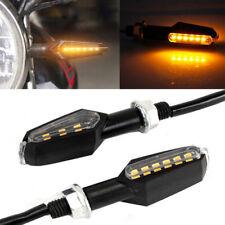 2x Double Sides LED Turn Signals Light Indicators Kawasaki ZX9R ZX7R ZX 900 750