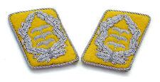 WW2 German Luftwaffe Officer Collar Tabs (Colonel)