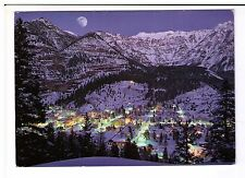 Postcard: Ouray at night - Gem of the Rockies - Colorado, USA