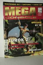 RIVISTA MEGA CONSOLE ANNO 5 NUMERO 50 LUG/AGO 1998 USATA ED ITA VBC 51416