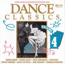 V.A. - DANCE CLASSICS Volume 4 -Georgio,Chaka Kahn,Sheila,Ottawan 💿 CD Album