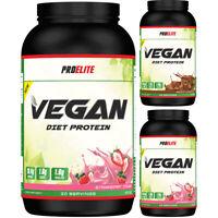 Diet Vegan Protein Powder Shake Lean Pro Elite 900g GMO & Gluten Free Pea Rice