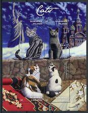 Marshall Isl 2018 MNH Cats Bobtail Persian Cat 4v M/S Statue of Liberty Stamps