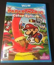 Paper Mario [ Color Splash ] (Wii U) NEW
