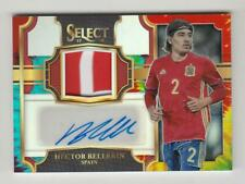 2017-18 Panini Select Soccer Jersey Auto card :Hector Bellerin #15/30