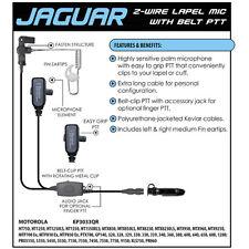 JAGUAR Quick Release Headset for Motorola PRO EX GL GP PTX Radios (See List)