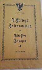L'horloge astronomique de saint-jean Besançon