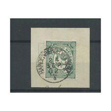 "Nederland  55 ""HARDENBERG-DEDEMSVAART 1902"" kleinrond VFU/gebr  CV 40 €"