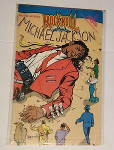 Vintage Revolutionary Comics: Michael Jackson #36. Rock n Roll. V.F/N.M. Bagged.