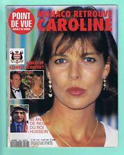 ▬►POINT DE VUE n°2298 - 1992 - Caroline de Monaco - Gala de la Croix Rouge
