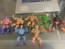 Lot of 7 Masters of the Universe Classics Figure: He-Man figure 1981,1982, 1984