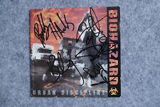 Biohazard - Urban Discipline CD Album signed / autograph / signiert