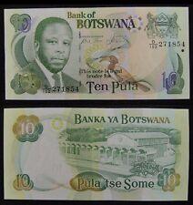 Botswana 10 Pula 2014 UNC paper Lemberg-Zp