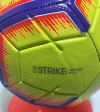 New Nike Strike Soccer Ball Size - 4 Yellow/Purple/Orange Red / Sc3310 710